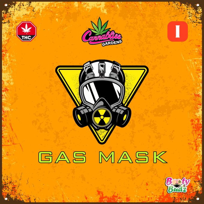 Gas Mask by Booty Budz